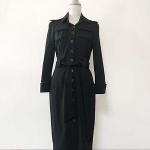 Diane Von Furstenberg wool blend jacket dress